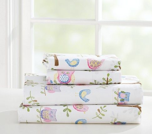 17 Best Images About Owl Sheets Pottery Barn Kids Kid