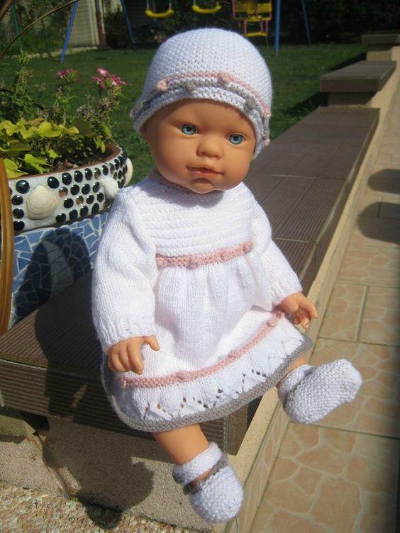 tuto robe pour beb s pr mas ou poup es id es v tements poupons pinterest. Black Bedroom Furniture Sets. Home Design Ideas