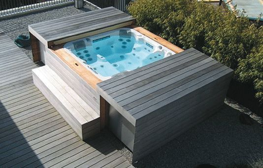 30 Awesome Hot Tub Enclosure Ideas For Your Backyard Jacuzzi