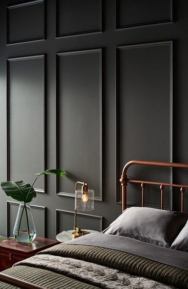 The 10 Grey Paint Colours Designers Always Use Best Gray Paint Gray Interior Bedroom Wall