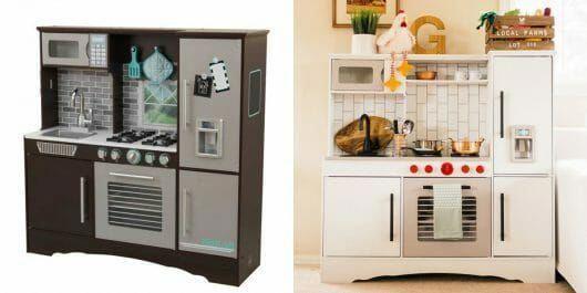 A Kidkraft Play Kitchen Makeover Before And After Homeremodelingpictures Kidkraft Kitchen Makeover Kitchen Makeover Play Kitchen