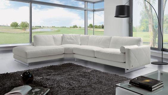 Theodores Leather Sofa - modern - sectional sofas - dc metro - esssofa