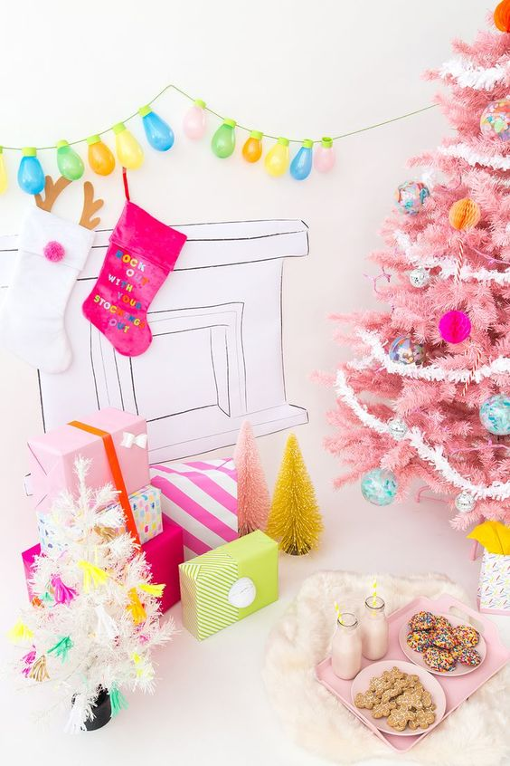 Our Colorful Holiday Decor Ideas!