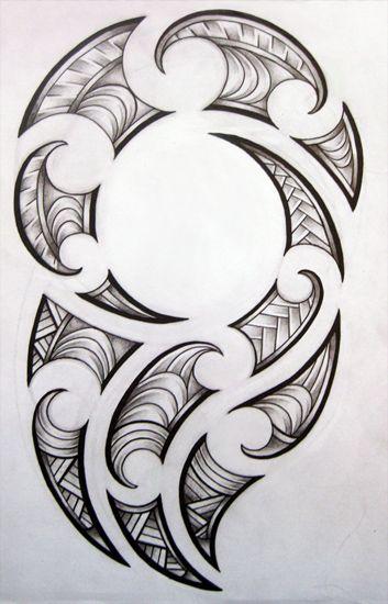 Maori design for my brother by ~josephine76 on deviantART