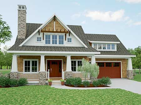 Plan 18266be storybook bungalow with screened porch for 2100 sf house plans
