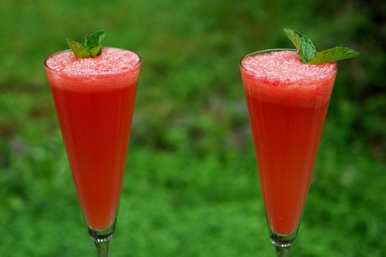 watermelon mimosas? yes