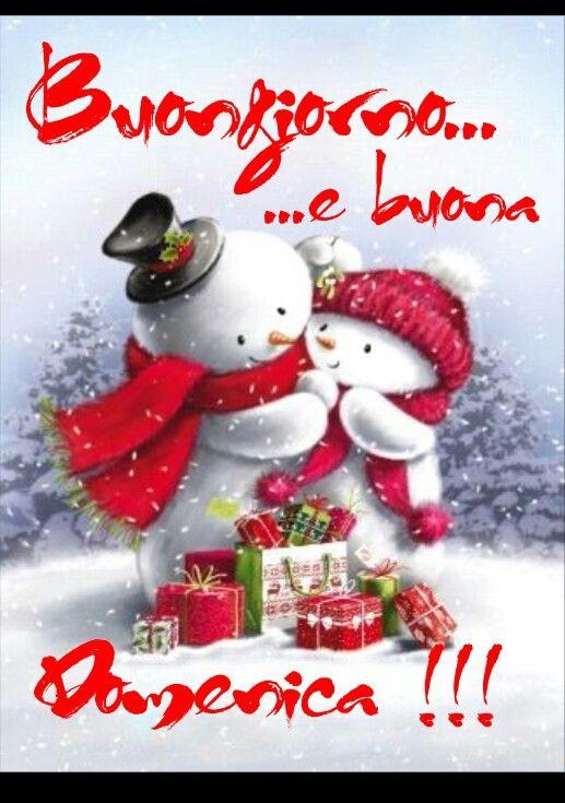 Buongiorno Buona Domenica Natalizia Immagini Di Natale Buon