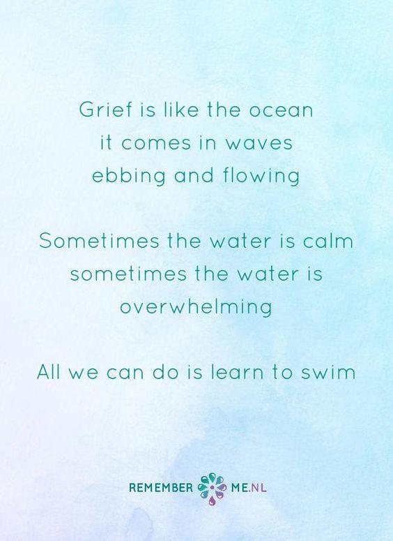 Citaten Over Verdriet : Een oceaan om in te schuilen quote over het afscheid