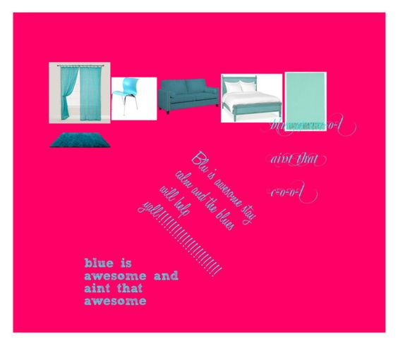 Quotawesome bluequot by amiralong liked on polyvore featuring for Interior designer cost plus