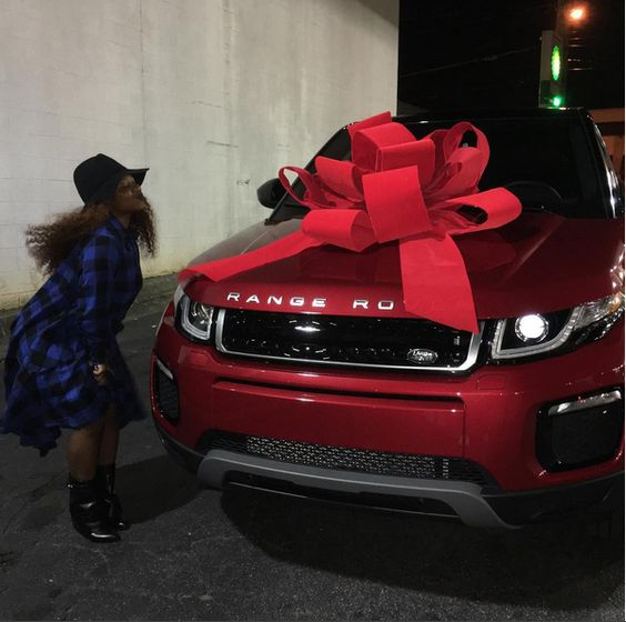 9jahub » Forum | And Lil Wayne gives daughter a 2016 Range Evoque for 17th birthday (Photos)