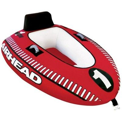 [TVPR_3874]  Airhead Mach 1 Single Rider Inflatable Boat Towable Tube + Tow Harness |  Ahm1-1 | Towable tubes, Inflatable boat, Boat tubes | Inflatable Towing Harness |  | Pinterest