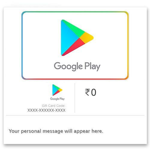 50 Cashback Maximum Rs 50 On Google Play Gift Code Digital