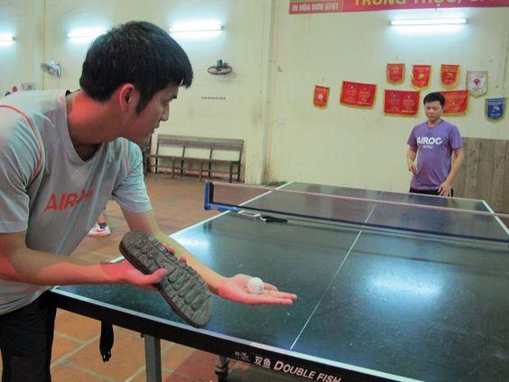Bàn bóng bàn tại Thể thao Đông Á