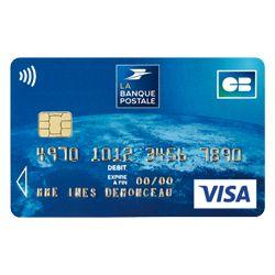 Carte Visa Classic Carte Bancaire Internationale La Banque Postale La Banque Postale Banque Postale Carte Bancaire Autonomie Ce1