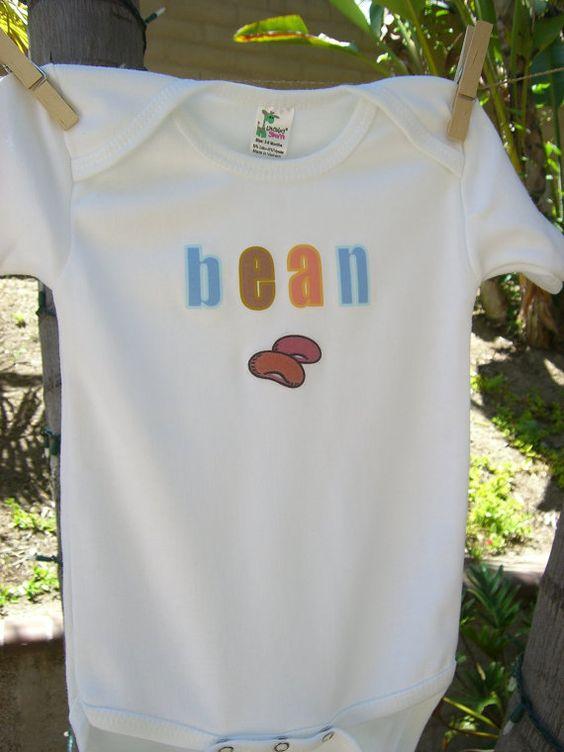My Little Bean Onesie