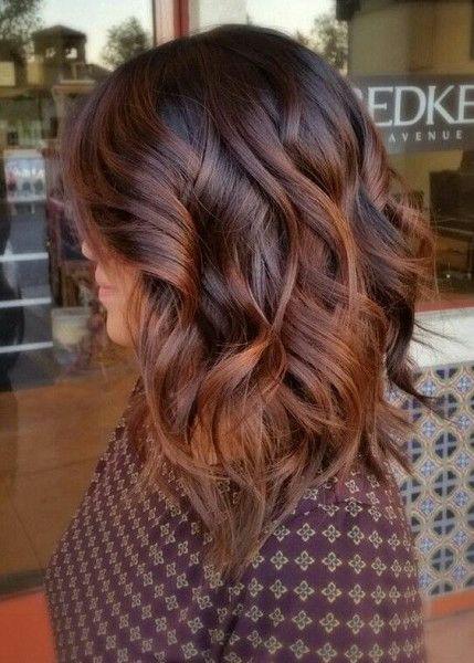 окрашивание волос хюгге