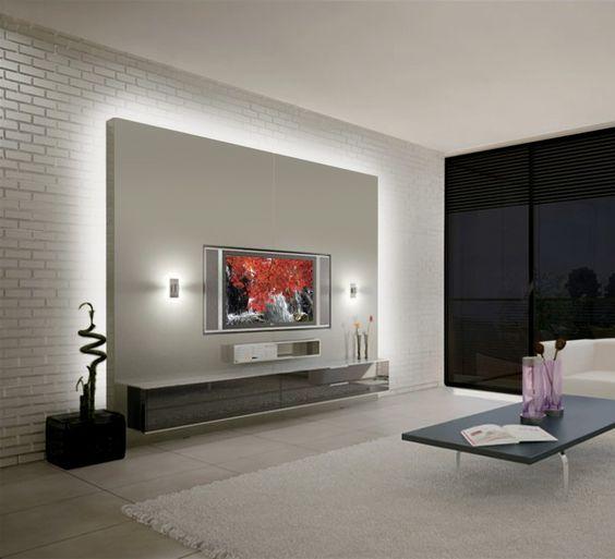 Modern Living Room Tv Wall Units t.v unit designs upper family … | pinteres…