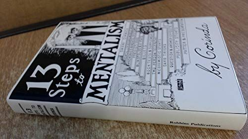 13 Steps To Mentalism By Corinda Book Drawing Good Books Magic Book