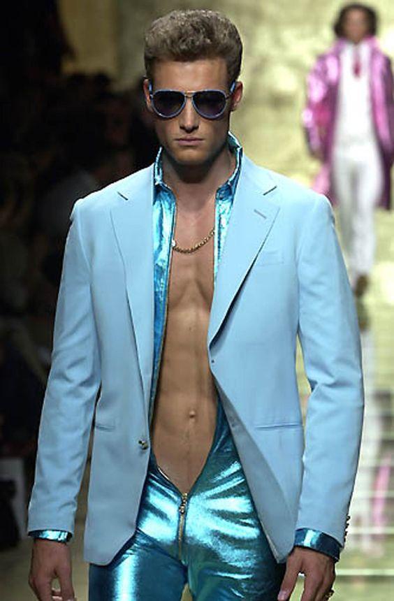 Versace S/S 2001 Menswear