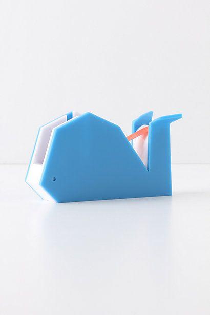 Whale Tape Dispenser. Adorbs.