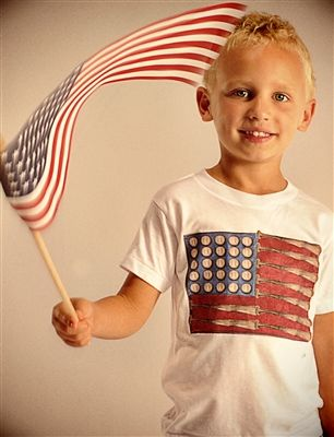 American flag and American sport: American Flag, Tiny Turnip, Turnip Americana