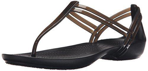 crocs Damen Isabella T-Strap Offene Sandalen mit Keilabsa... https://www.amazon.de/dp/B010WEBZ98/ref=cm_sw_r_pi_dp_x_Lyncyb6EGSAMV