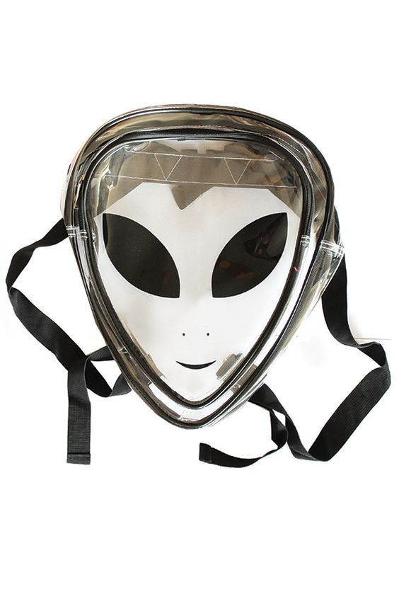 Clear Alien Jelly Backpack | Products, Aliens and Backpacks