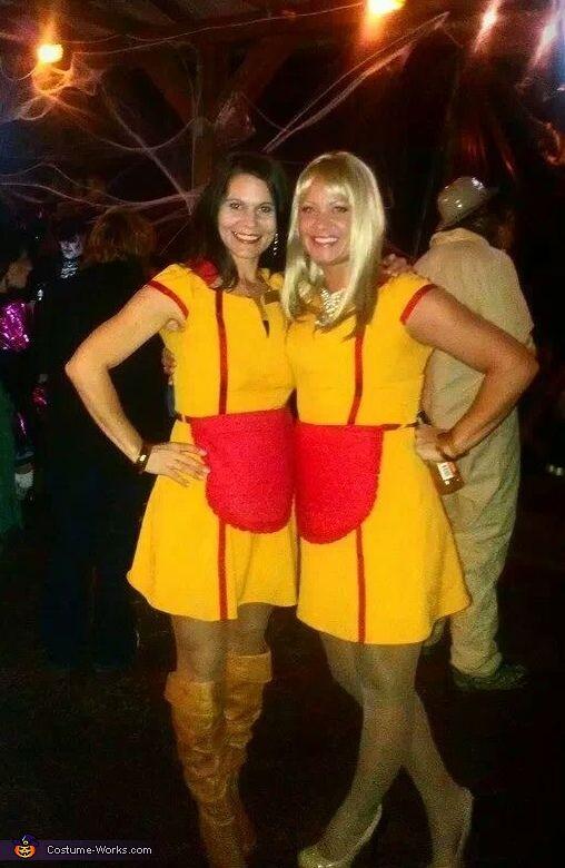 2 Broke Girls Costume Halloween Ideas Happy Halloween