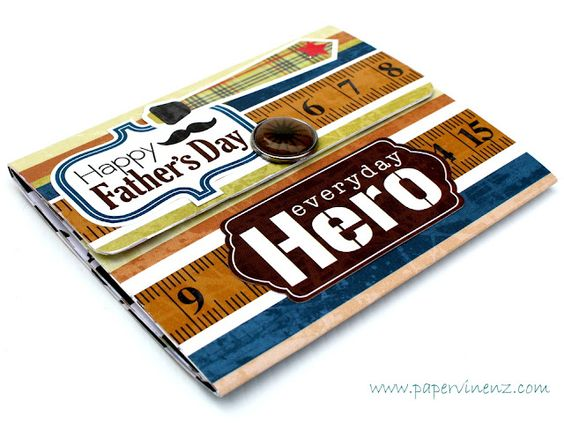 """PaperVine: Father's Day """"Wallet"""" Mini Album (Echo Park)"""