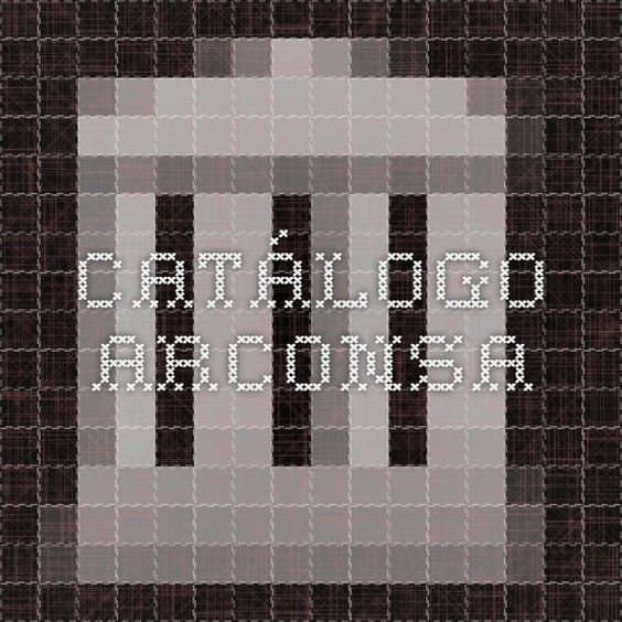 Catálogo ARCONSA