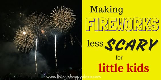 Making fireworks less scary
