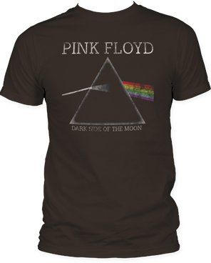 Pink Floyd Vintage Style Dark Side Of The Moon Prism T