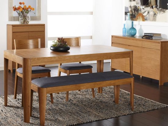 Scandinavian Style Dining Room Table: Domino Dining Table & Benches Scandinavian Designs