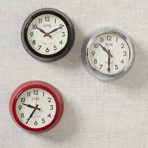 Newgate Wall Clocks - Electric