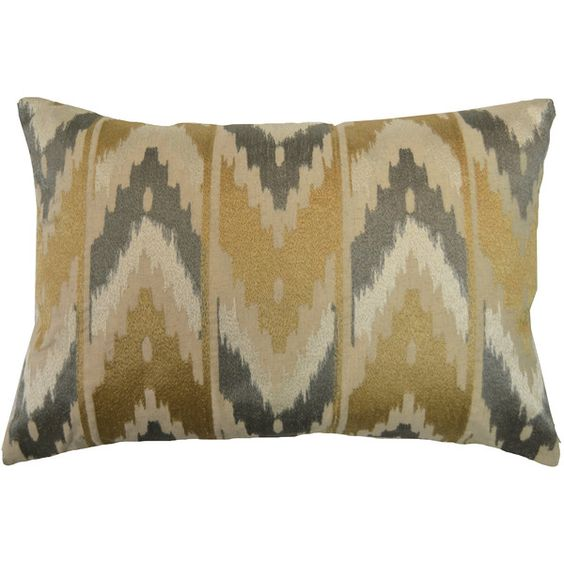 Mendoza Embroidered Throw Pillow ($98) ❤ liked on Polyvore