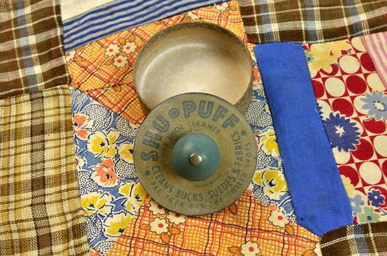 Suede Shoe Cleaner ShuPuff 1950s by PlumsandHoney on Etsy, $15.00
