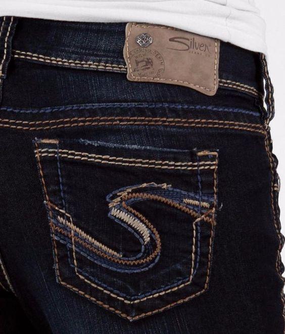 Silver Suki Jeans - Xtellar Jeans