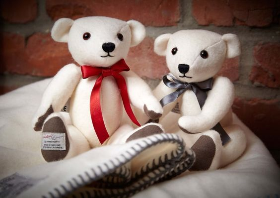 Scarlet & Argent Cashmere Teddy Bears From www.makethemostof.co.uk make perfect gifts for Newborns. For more information >> http://makethemostof.co.uk/scarlet-argent-cashmere-teddy-bear #TeddyBear #CashmereGifts #NewBabyGifts @ScarletArgent