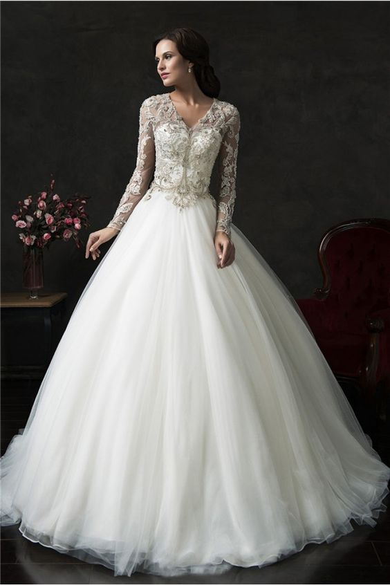 Latest Design wedding dress