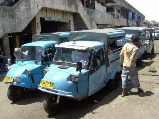 Bemo Transportasi Thn 1970 An Indonesia Dengan Gambar