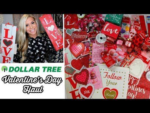 Dollar Tree Haul New Valentine S Day Youtube Dollar Tree Haul Diy Valentines Decorations Dollar Tree Crafts