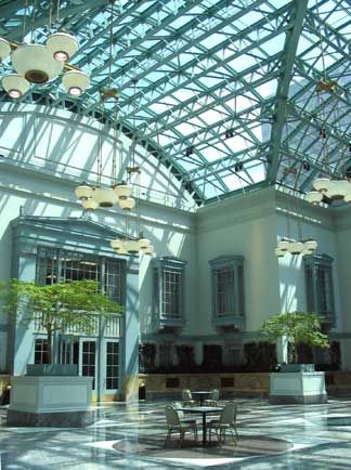 Harold Washington Library Winter Garden Room