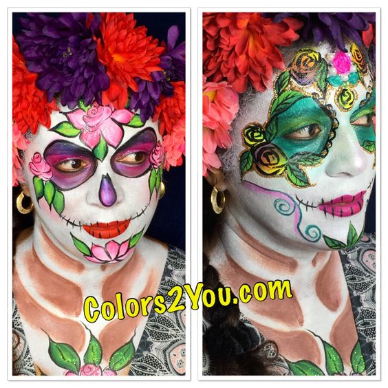 all ready for halloween best face painting in tampa fl - Halloween Tampa Fl