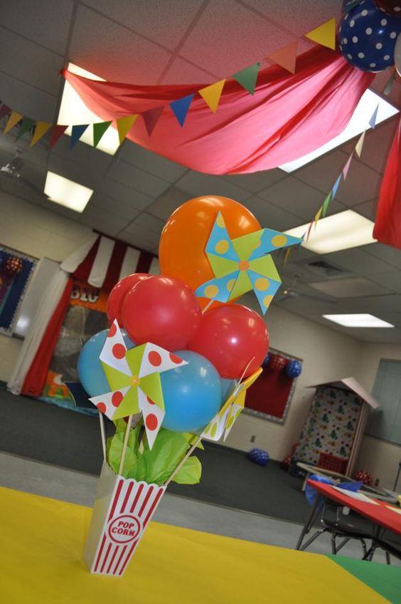 2012 Circus Themed Kindergarten Graduation Party