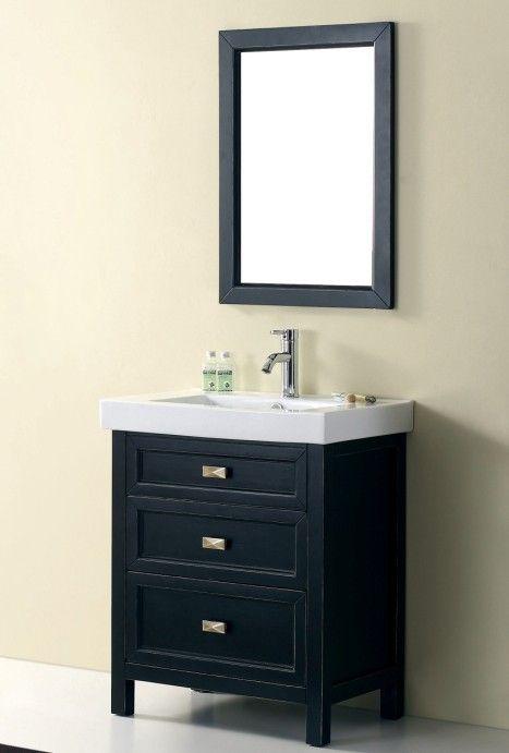Traditional Vanity Bathroom: 'Torun 700' Solid Timber Vanity