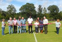 Jaguars Foundation Ribbon Cutting Ceremony held at Yulee Ball Park in Nassau County