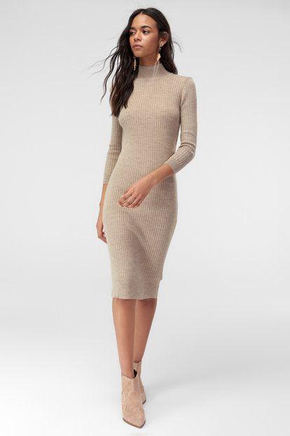 Yeni Vizon Triko Elbise Elbise Triko Elbise Modelleri