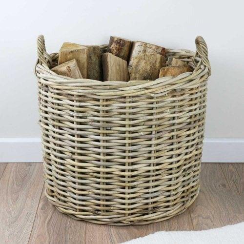 Pin By Svet Lana On 2020 Home Renovations In 2020 Wicker Log Baskets Wicker Baskets Storage
