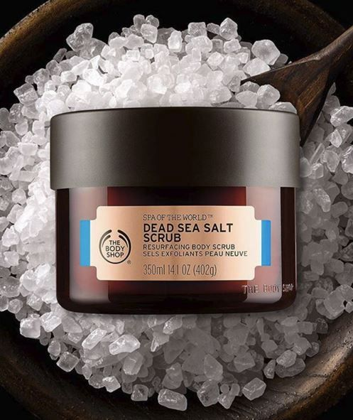 Image result for body shop spa scrub