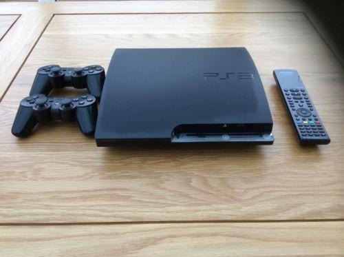 Sony PlayStation 3 Slim 320 GB Charcoal Black Console (CECH-2503 https://t.co/VYWuARlBxw https://t.co/EJqIVZiAAC